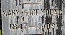 Mary A. <i>Price</i> Young