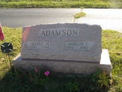 Alfred M Adamson