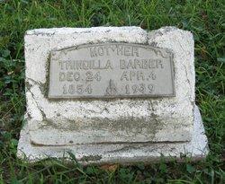 Trindilla <i>Crain</i> Barber