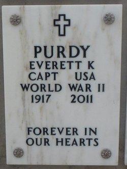Capt Everett Kermeth Purdy