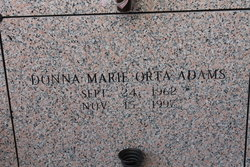 Donna Marie <i>Orta</i> Adams