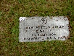 Ruth Wittenberger Binkley