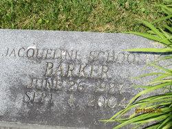 Jacuqueline <i>Schooler</i> Barker