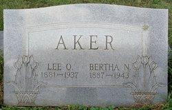 Bertha Newell <i>Bralley</i> Aker