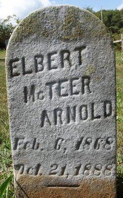 Elbert McTeer Arnold