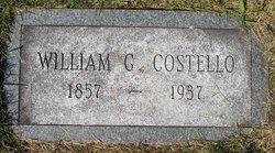 William G Costello