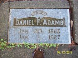 Daniel F Adams
