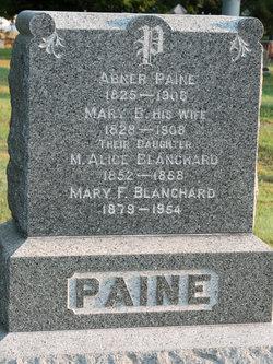 M Alice <i>Paine</i> Blanchard