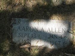 Aaron A Allen