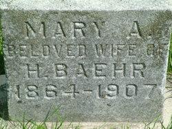 Mary A. Baehr