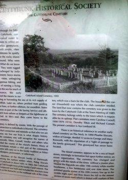 Cuttyhunk Cemetery