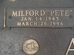 Milford Lee Pete Acup