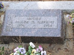 Pauline D Albright