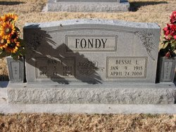 Bessie Lee <i>Barron</i> Fondy