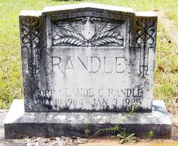Corp Claude C Randle