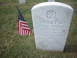 Violet A Dutton