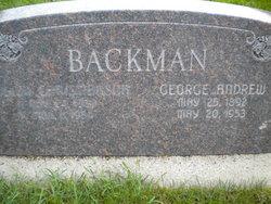 George Andrew Backman