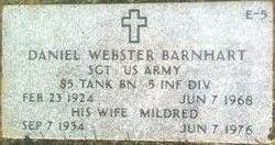 Sgt Daniel Webster Barnhart