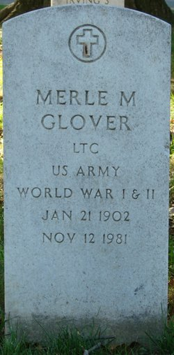 Merle M Glover