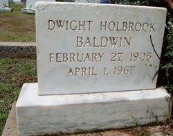 Dwight Holbrook Baldwin