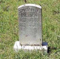 Sarah E. Allen