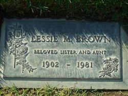 Lessie Mae <i>Dawson</i> Brown