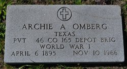 Archie Adolph Omberg