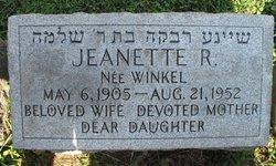 Jeanette R. <i>Winkel</i> Abrams