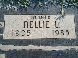 Nellie L <i>Burright</i> Bartlett