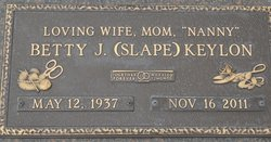 Betty Jean <i>Slape</i> Keylon