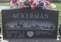 Barbara Jane <i>Sherer</i> Ackerman