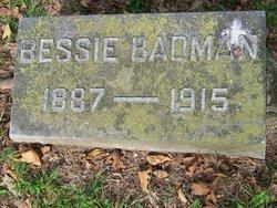 Bessie <i>Cromer</i> Badman