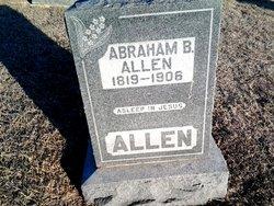 Abraham B Allen