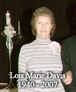 Lois Marie <i>Davis</i> Stanfill