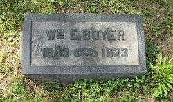 William E Boyer