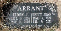 Betty Jean <i>Robertson</i> Arrant