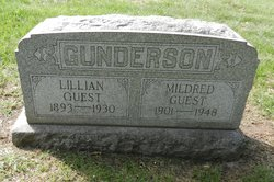 Lillian Lilly <i>Gunderson</i> Guest