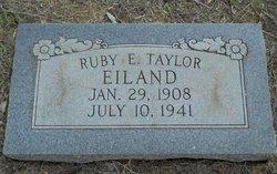Ruby Estelle <i>Taylor</i> Eiland