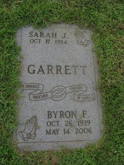 Byron F Garrett