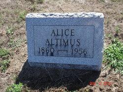 Alice Altimus