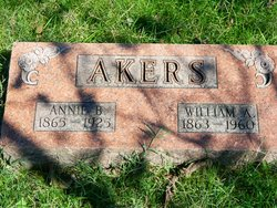 Annie Belle <i>Johnson</i> Akers