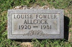 Mary Louise <i>Fowler</i> Allcock
