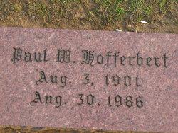 Paul Willis Hofferbert, Sr