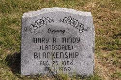 Mary R. Mindy <i>Landsdale</i> Blankenship