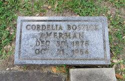Cordelia Cora <i>Bostick</i> Amerman