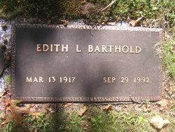 Edith L <i>Cramer</i> Barthold