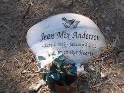 Jean <i>Mix</i> Anderson