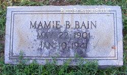 Mamie B. Bain