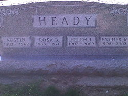 Esther Rosamond Heady