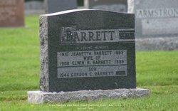Jeanetta <i>Pelton</i> Barrett